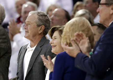 George W. Bush, Laura Bush,
