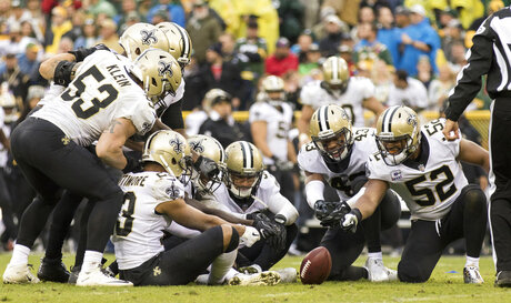 Saints Brees Unburdened Football