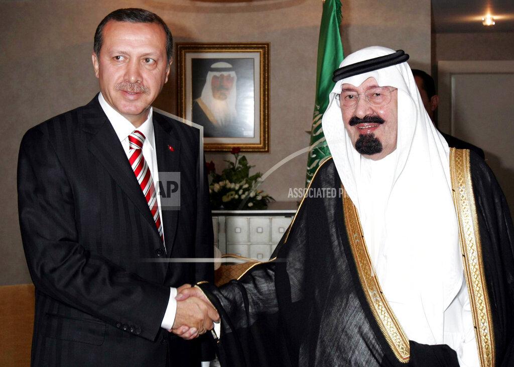 AP I TUR TURKEY SAUDI ARABIA