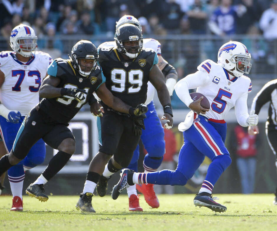 Yannick Ngakoue, Marcell Dareus, Tyrod Taylor