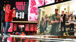 An image of Oklahoma center Creed Humphrey is displayed on a screen after a second-round pick by the Kansas City Chiefs at the NFL football draft Friday, April 30, 2021, in Cleveland. (AP Photo/David Dermer)