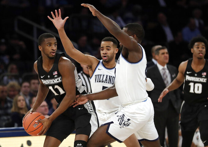 Big East - First Round - Game 1 (win) at Villanova Wildcats 3/14/2019