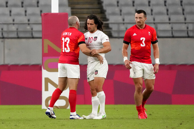 In the market for a medal, US rugby 7s finish just short