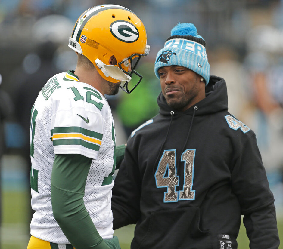 Captain Munnerlyn, Aaron Rodgers