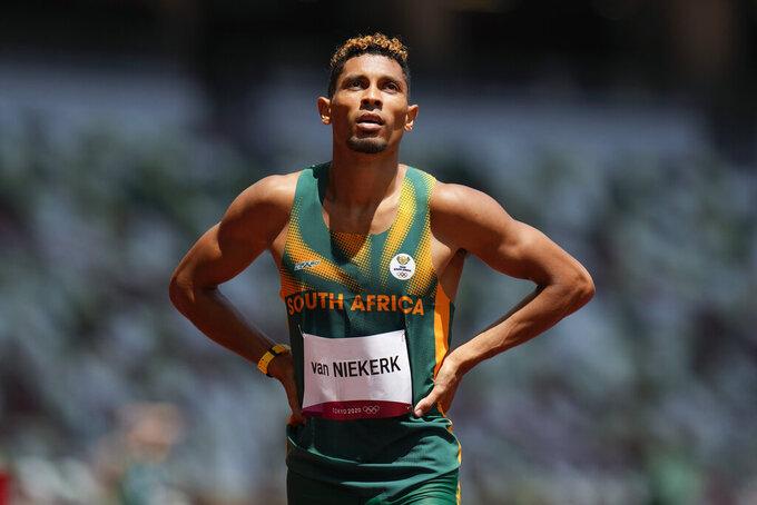 Back in Lane 8: Van Niekerk's struggle to reach the Olympics