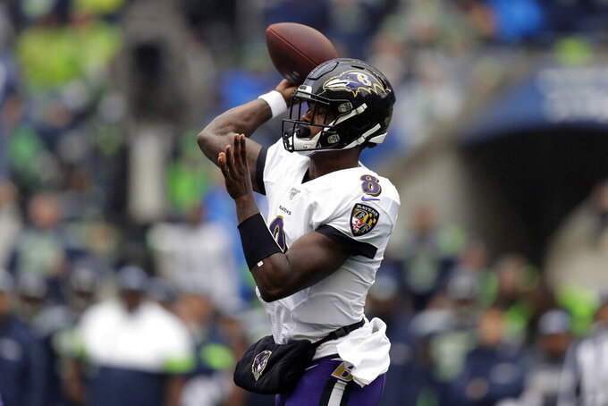 Ravens, Jackson take on Brady, undefeated Patriots in Week 9