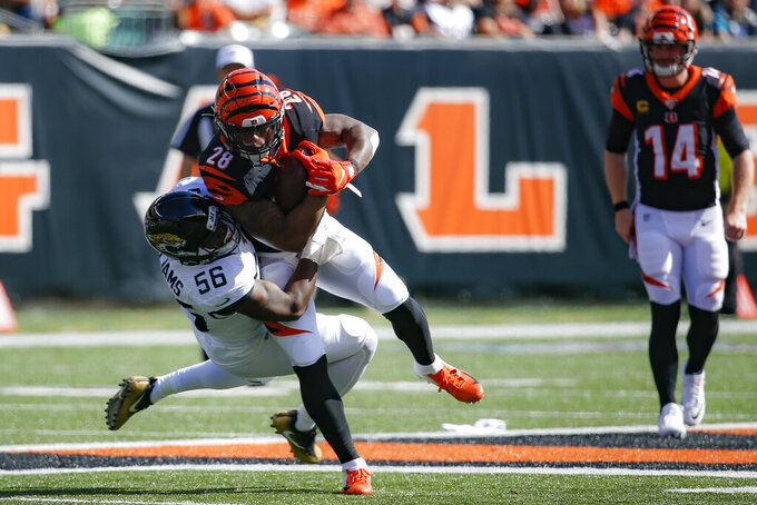 Lookin' in mirror, still losing: Bengals' season so familiar