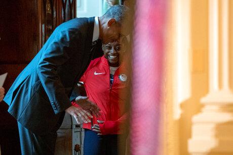 Barack Obama, Simone Biles