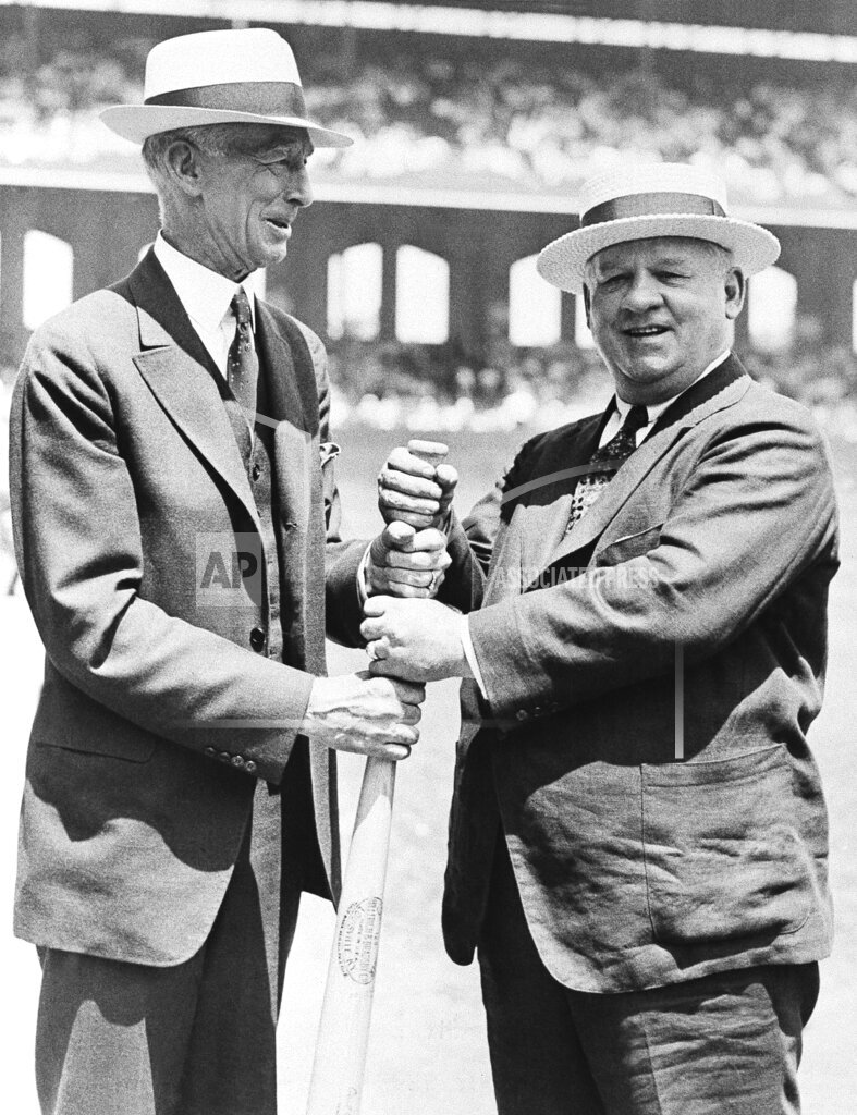 Watchf AP S  IL USA APHS103045 Connie Mack And John McGraw 1933