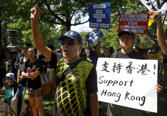 Hong Kong Protest Washington
