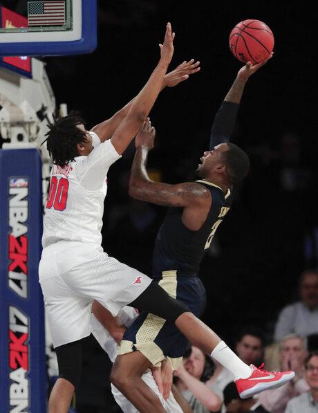 Pittsburgh SMU Basketball