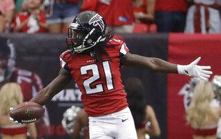 Falcons-Trufant Returns Football