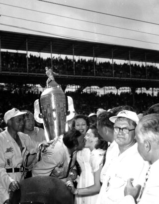 Indy 500 1951 Countdown Race 35 Auto Racing