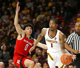 Rutgers Minnesota Basketball