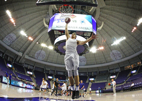 NIT TCU Richmond Basketball