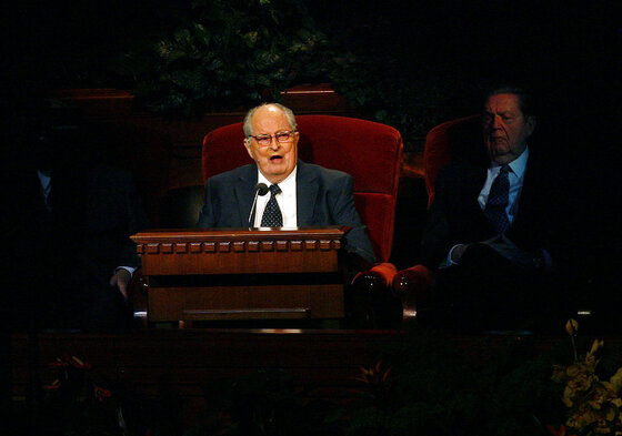 Mormon Leader Hospitalized