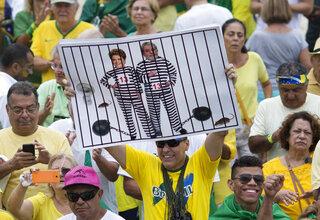 Brazil OLY Rio Political Trumoil