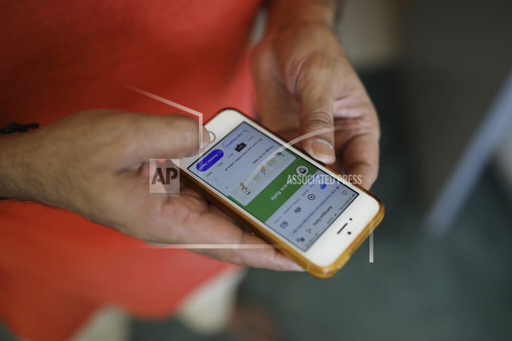 Virus Outbreak India Tracing App