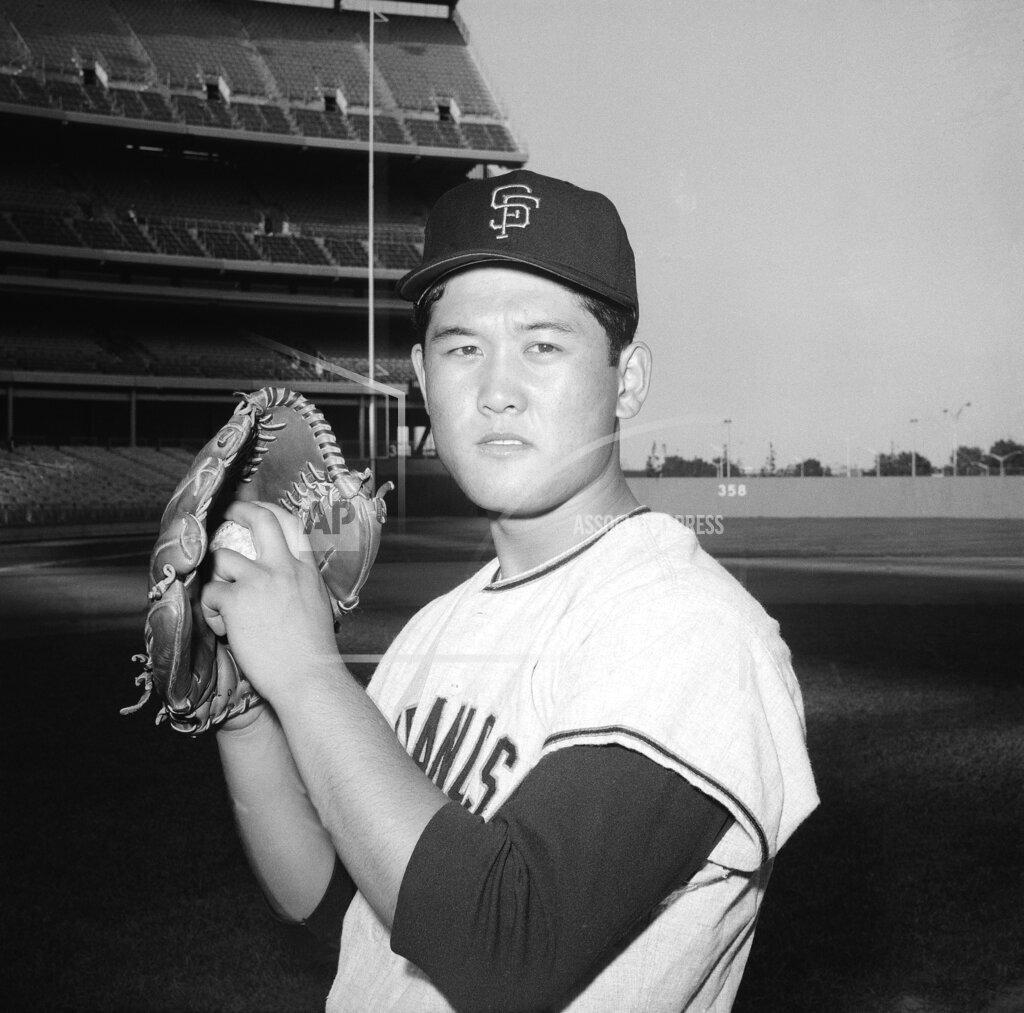 Watchf Associated Press Sports Professional Baseball (National League) California United States APHS57058 Masanori Murakami San Francisco Giants