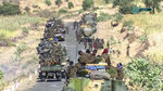 This image made from undated video released by the state-owned Ethiopian News Agency on Monday, Nov. 16, 2020 shows Ethiopian military gathered on a road in an area near the border of the Tigray and Amhara regions of Ethiopia. Ethiopia's prime minister Abiy Ahmed said in a social media post on Tuesday, Nov. 17, 2020 that