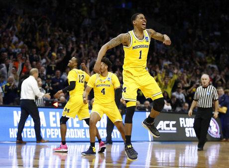 NCAA Florida St Michigan Basketball