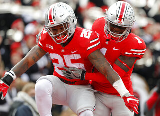 Mike Weber, Johnnie Dixon