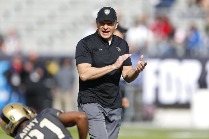 Army's Jeff Monken selected George Munger coach of the year.