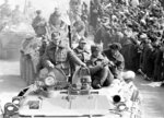 In this photo taken on Wednesday, Feb. 15, 1989, Soviet Army soldiers ride armored personnel carriers after their unit crossed a bridge on the border between Afghanistan and then Soviet Uzbekistan near the Uzbek town of Termez, Uzbekistan. When the Soviet Union completed its troops withdrawal from Afghanistan, it was widely hailed as a much-anticipated end to a bloody quagmire, but public perceptions have changed and many Russians now see the 10-year Soviet war in Afghanistan as a necessary and largely successful endeavor. (AP Photo/Alexander Zemlianichenko)