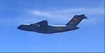This handout photo from the Royal Malaysian Air Force taken on May 31, 2021 and released on June 1, 2021 shows a Chinese People's Liberation Army Air Force (PLAAF) Xian Y-20 aircraft that Malaysian authorities said was in the airspace over Malaysia's maritime zone near the coast of Sarawak state on Borneo island. (Royal Malaysian Air Force via AP)