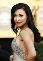 "FILE - Actress Naya Rivera arrives at the 17th Annual Screen Actors Guild Awards in Los Angeles on Jan. 30, 2011. Authorities say former ""Glee"" star Naya Rivera is missing and being searched for at a Southern California lake. Rivera played Santana, a cheerleader in the musical-comedy ""Glee"" that aired on Fox from 2009 until 2015. (AP Photo/Matt Sayles, File)"