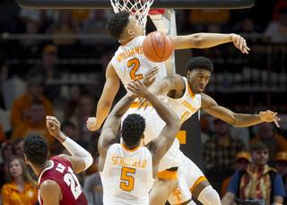 Alabama Tennessee Basketball