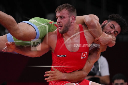 APTOPIX Tokyo Olympics Wrestling