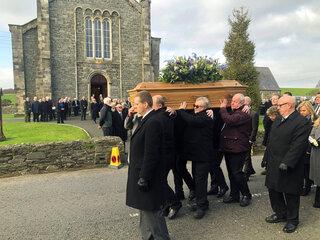 Britain Adamson Funeral