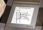 This Wednesday, May 9, 2018, photo, shows a touch screen of a voting machine during early voting in Sandy Springs, Ga. As the midterm congressional primaries heat up amid warnings of Russian hacking, about 1 in 5 Americans will be casting their ballots on machines that do not produce a paper record of their votes. That worries voting and cybersecurity experts, who say the lack of a hard copy makes it difficult to double-check the results for signs of manipulation.  (AP Photo/John Bazemore)