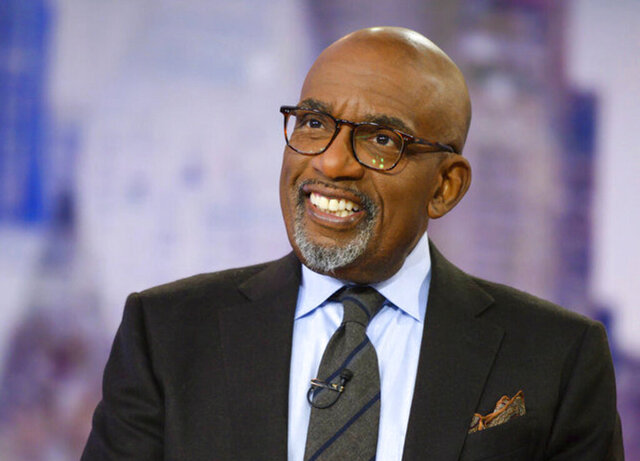 This image released by NBC shows Al Roker on the set of the
