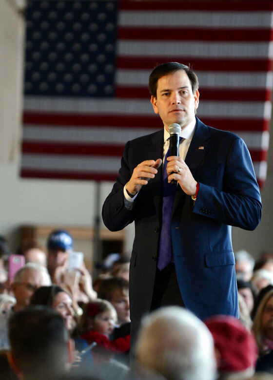 RUBIO KNOXVILLE RALLY