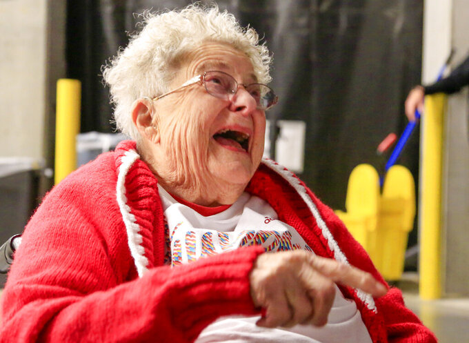80 years later, Florence the fan keeps cheering on Huskers