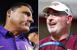Mississippi State LSU Preview Football
