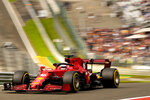 Ferrari driver Charles Leclerc of Monaco steers his car during the second practice session prior to the Formula One Grand Prix at the Spa-Francorchamps racetrack in Spa, Belgium, Friday, Aug. 27, 2021. The Belgian Formula One Grand Prix will take place on Sunday. (AP Photo/Francisco Seco)