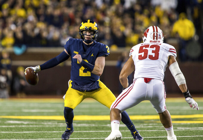 No. 4 Michigan prepares for expected rout over Rutgers