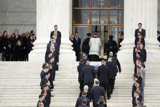 APTOPIX Supreme Court Scalia