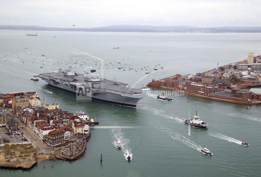 Britain Aircraft Carrier