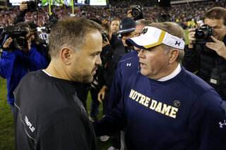 Matt Rhule, Brian Kelly