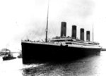 FILE - In this Wednesday, April 12, 1912, file photo, the liner Titanic leaves Southampton, England on her maiden voyage. People have been diving to the Titanic's wreck for 35 years. No one has found human remains, according to the company that owns the salvage rights.  But the company's plan to retrieve the ship's iconic radio equipment has sparked a debate: Could the world's most famous shipwreck still hold remains of passengers and crew who died a century ago? (AP Photo)