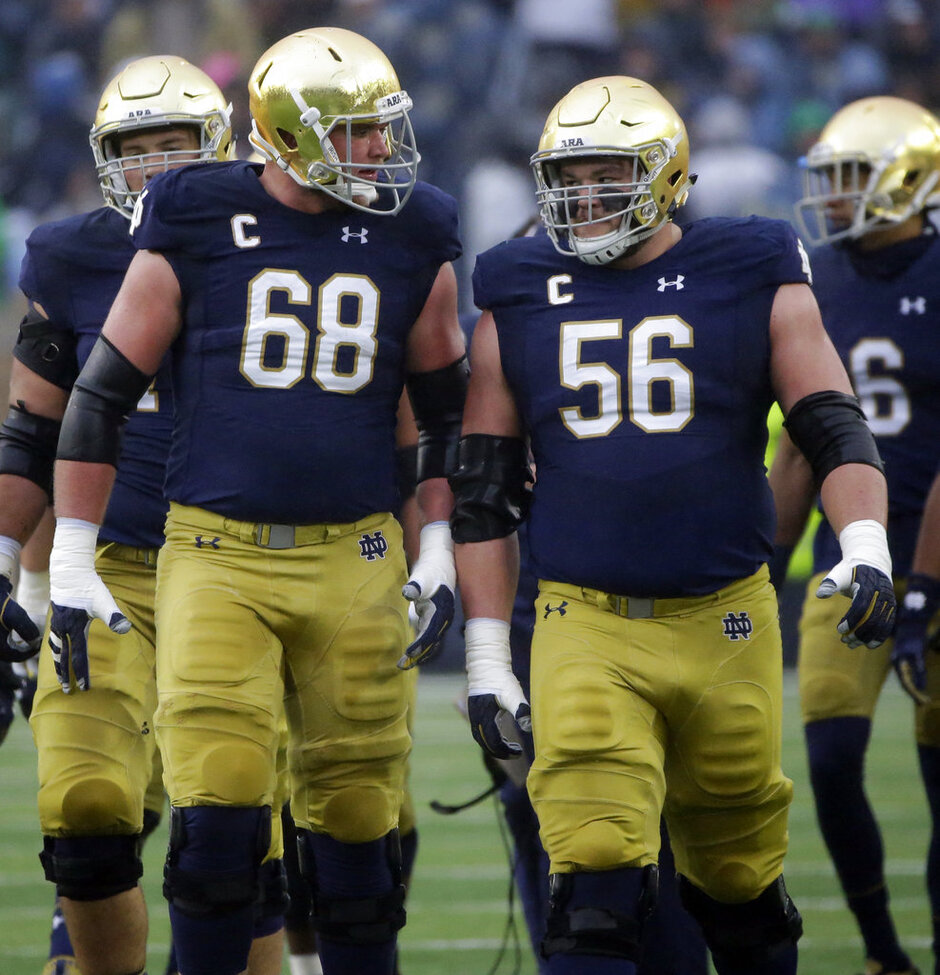 Mike McGlinchey, Quentin Nelson