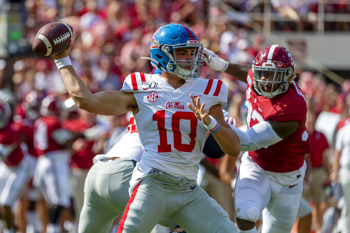 Rebels coach says QB Plumlee has earned more playing time