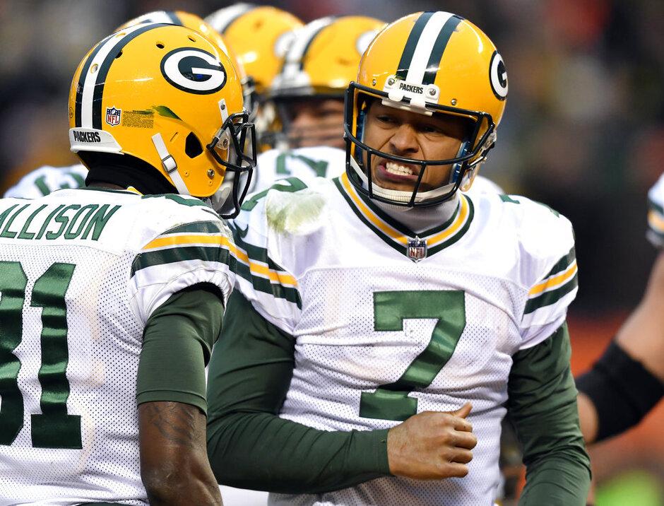 Packers-Seahawks Trade Football