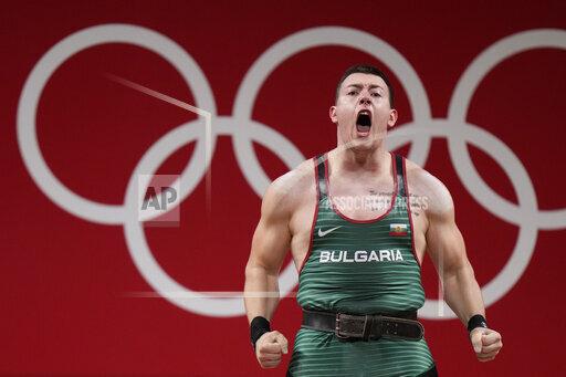 APTOPIX Tokyo Olympics Weightlifting