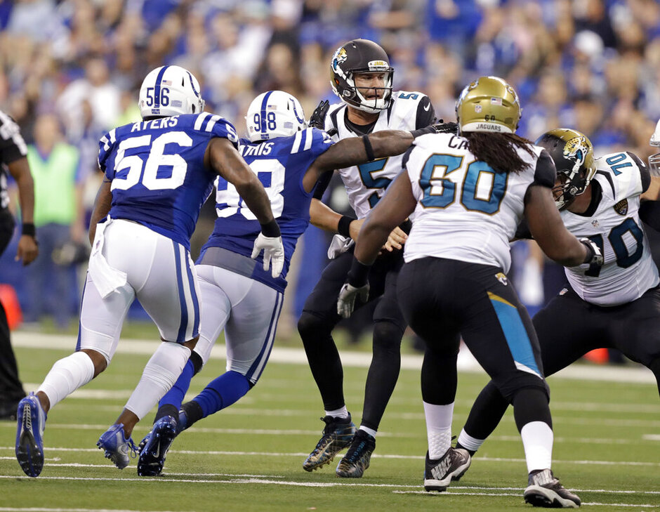 Robert Mathis, Blake Bortles