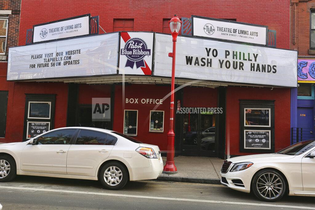 South Street Philadelphia Heightend Coronavirus Alert